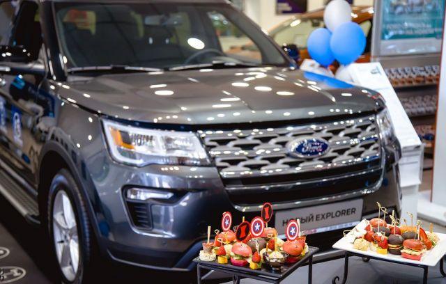 «РОЛЬФ Витебский» совместно с REMAR Group презентовали уникальные сверхвозможности нового Ford Explorer