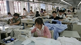 Текстильная промышленность в Китае стоит на пороге кризиса