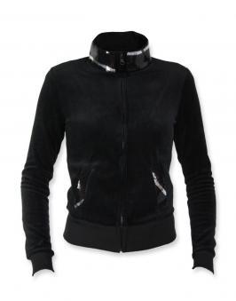 Велюровая куртка с паетками