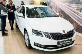 REMAR Group организовала презентацию автомобиля ŠKODA OCTAVIA