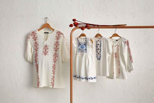 Ко Дню румынской блузы LC Waikiki создала семейную коллекцию одежды