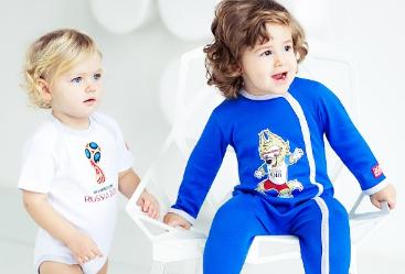 Российской компанией будет выпущена коллекция детской одежды к Чемпионату мира по футболу FIFA 2018 в России™