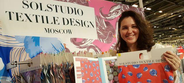 Россия в тренде: российская студия текстильного дизайна Solstudio Textile Design задает мировые модные тенденции