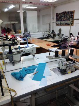 Швейное производство примет заказы на пошив