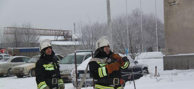 На Ставрополье горел склад хлопка