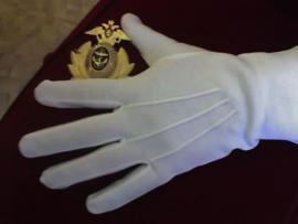 Офицерские парадные перчатки