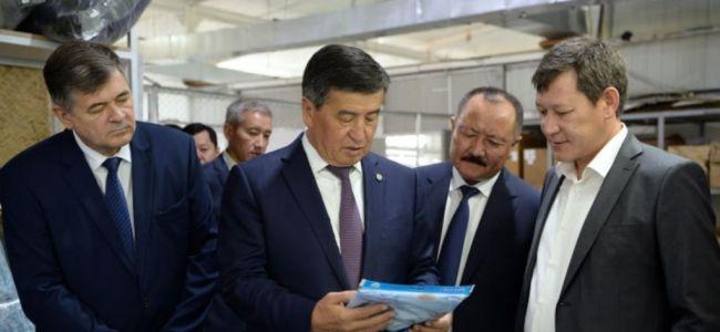 Объем экспорта легкой промышленности Кыргызстана за год снизился вдвое