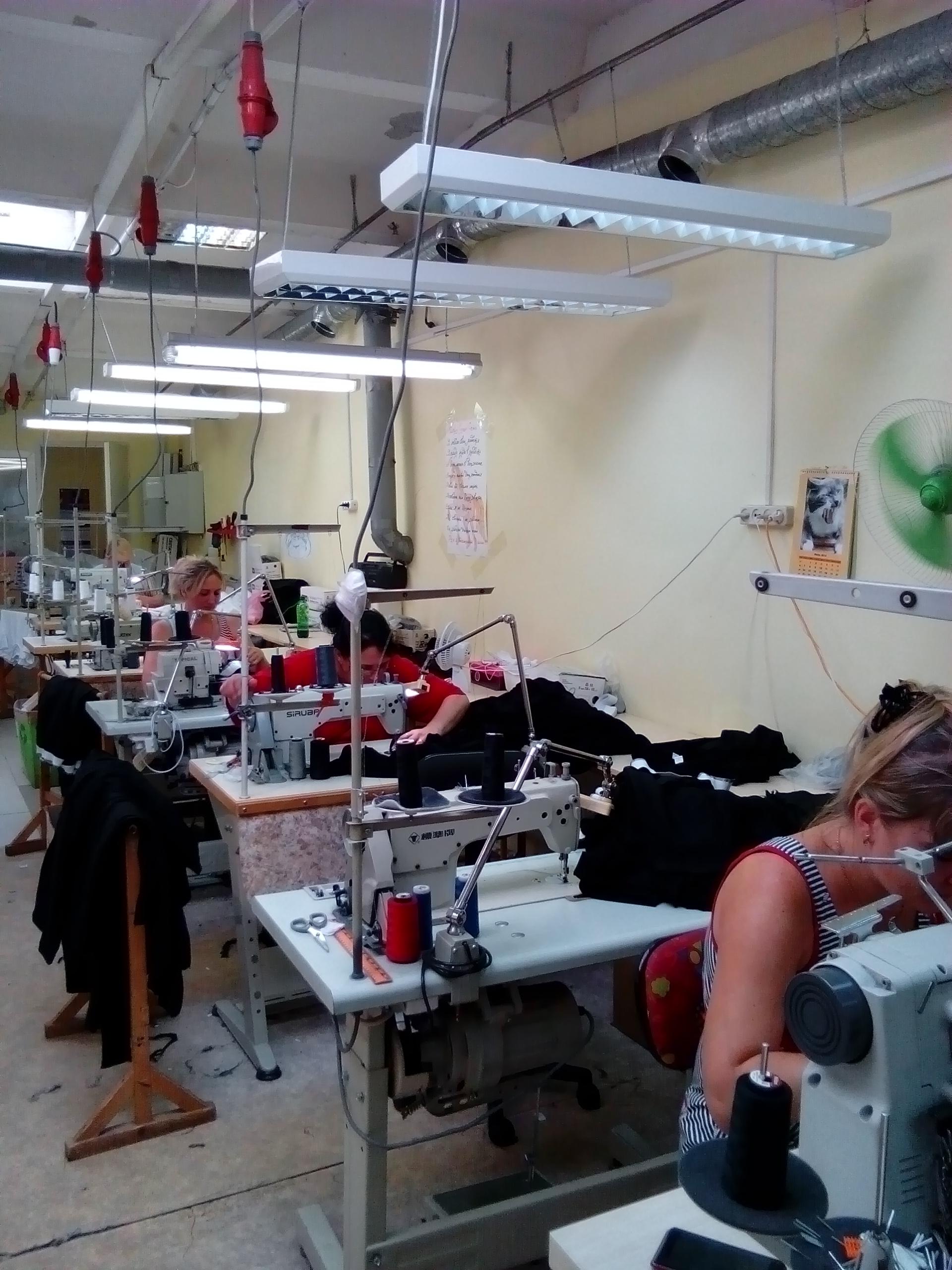 Швейное производство предлагает сотрудничество