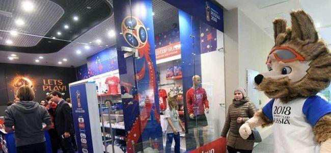 FIFA откроет несколько десятков магазинов к ЧМ-2018, в том числе мегастор на Красной площади