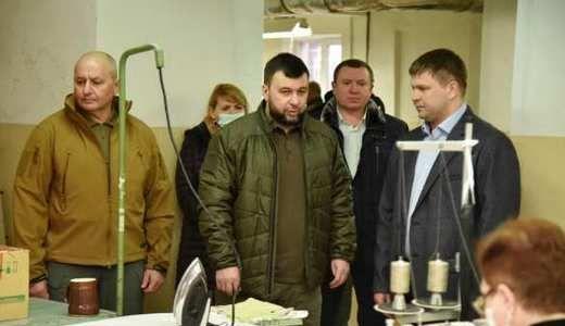 Глава ДНР Денис Пушилин посетил швейное предприятие «Союзспецодежда»