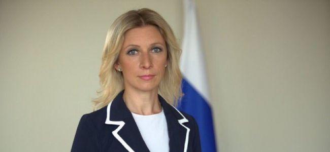 Мария Захарова заявила, что выбирает одежду российских брендов