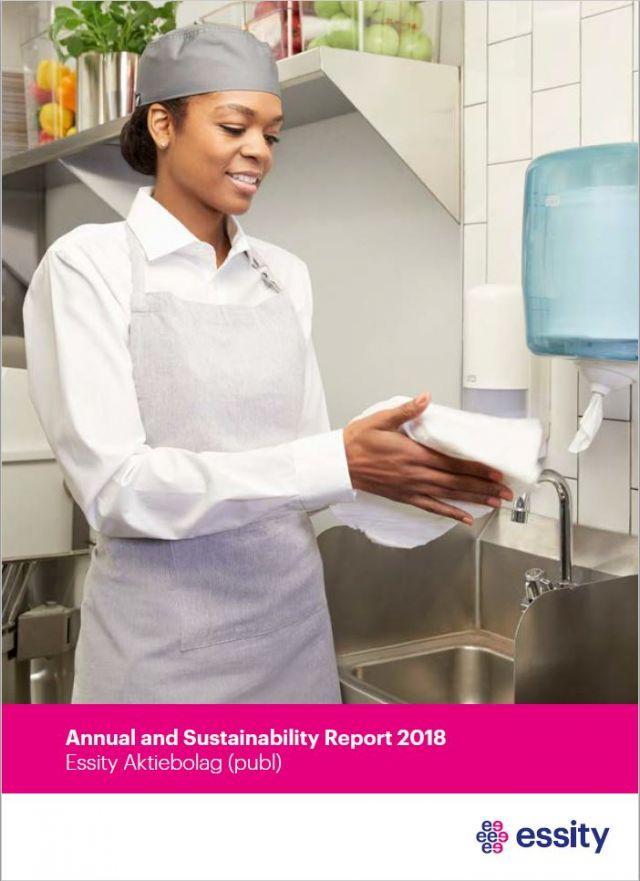 Компания Essity представила годовой отчет и отчет в области бережного отношения к окружающей среде за 2018 год
