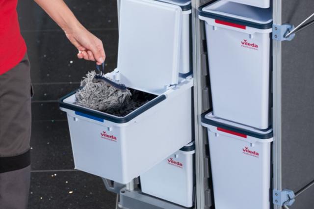 Инновация в профессиональной уборке:  Vileda Professional представляет серию уборочных тележек Ориго 2