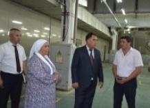 Одно из крупнейших текстильных предприятий Таджикистана