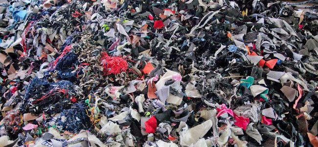 Нетканые материалы из мусора