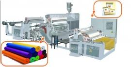 Оборудование для ламинирования тканей, бумаги, картона, фольги, нетканых материалов