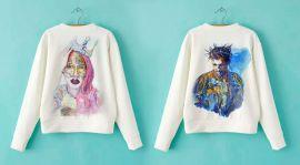Российские художники выпустили коллекцию одежды по мотивам собственных картин