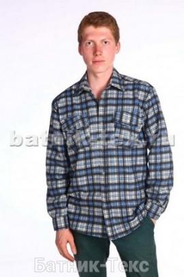 Рубашка дл. рукав 2 карм. Фланель
