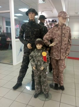 Стиль милитари в детской моде
