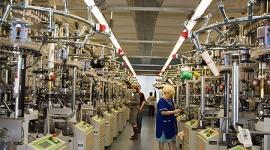 В мае текущего года в России производство тканей упало на 7,1% в годовом сопоставлении, до 301 млн кв. м.