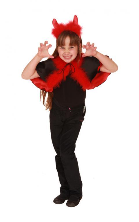Как сделать костюм чертенка на хэллоуин - Mir-souz